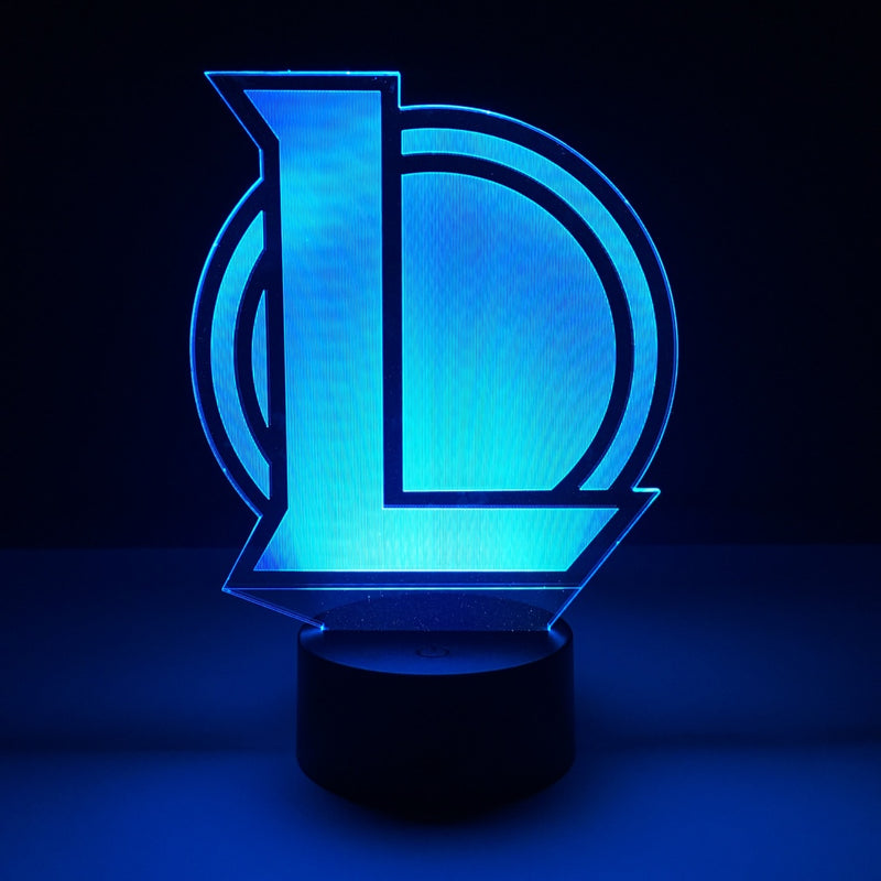 league of legends led lamp night light