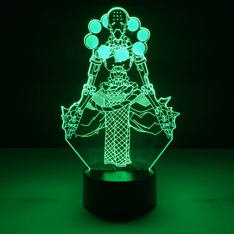overwatch zenyatta led lamp night light