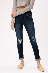 Neely Distressed Denim