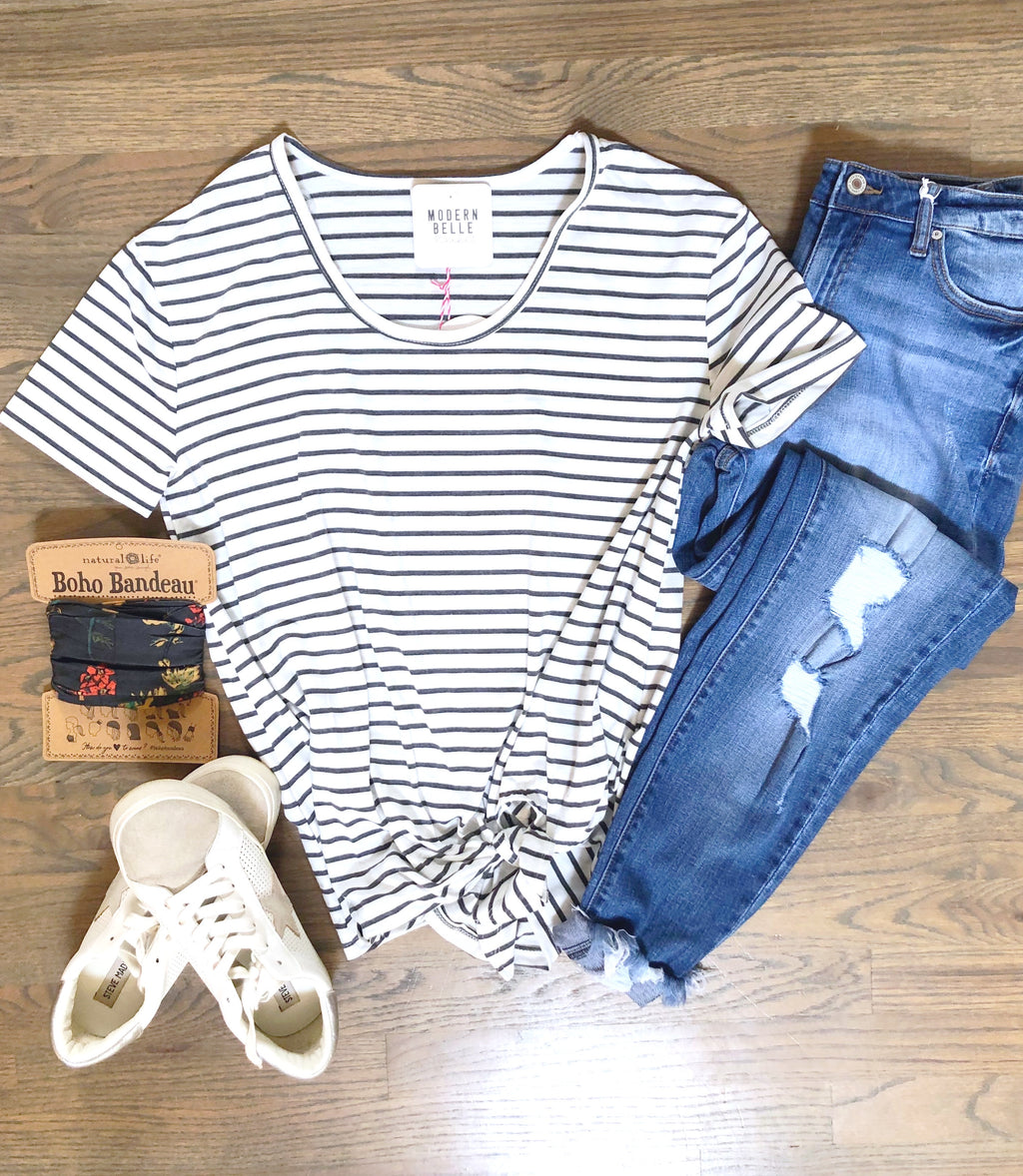 Ashe Stripe Top