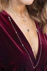 Gypsy Glam Tassel Detail Necklace