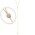 Extra Long Single Stone Lariette