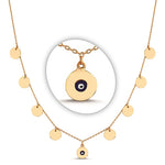 Load image into Gallery viewer, Gypsy Glam Shakira necklace eye motif