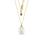 Load image into Gallery viewer, Long Pearl Pendant