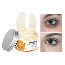 LANBENA Retinol Eye Mask Hyaluronic Acid Eye Patches Serum Reduces Dark Circles