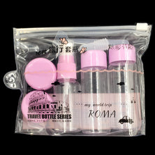 7pcs/Set Mini Make Up Container Bottle Travel Kit