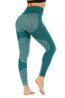 Yoga Leggings Seamless High Waist Compression Tights Slim