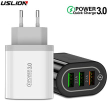 3.0 USB Phone Charger For Samsung S8 S9 Xiaomi mi 8 Huawei