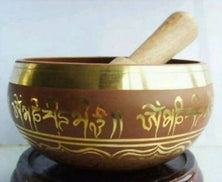 Tibetan OM Ring Gong -Singing Bowl