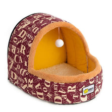 Petshy Warm Cat Cave Bed Dog House