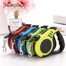 Benepaw 3M/5M Retractable Dog Leash