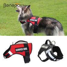 Benepaw Breathable No Pull Large Dog Harness