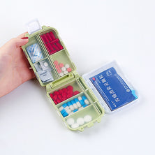 Creative Portable Multifunction Drug Packing Organizers