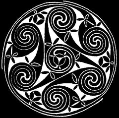 Celtic Scroll # CD07