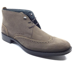 DeLuca by Angeleone - Italian Designer Wing Tip Boots