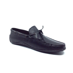 Arcari by Angeleone - Black Slip-on Men's Loafers