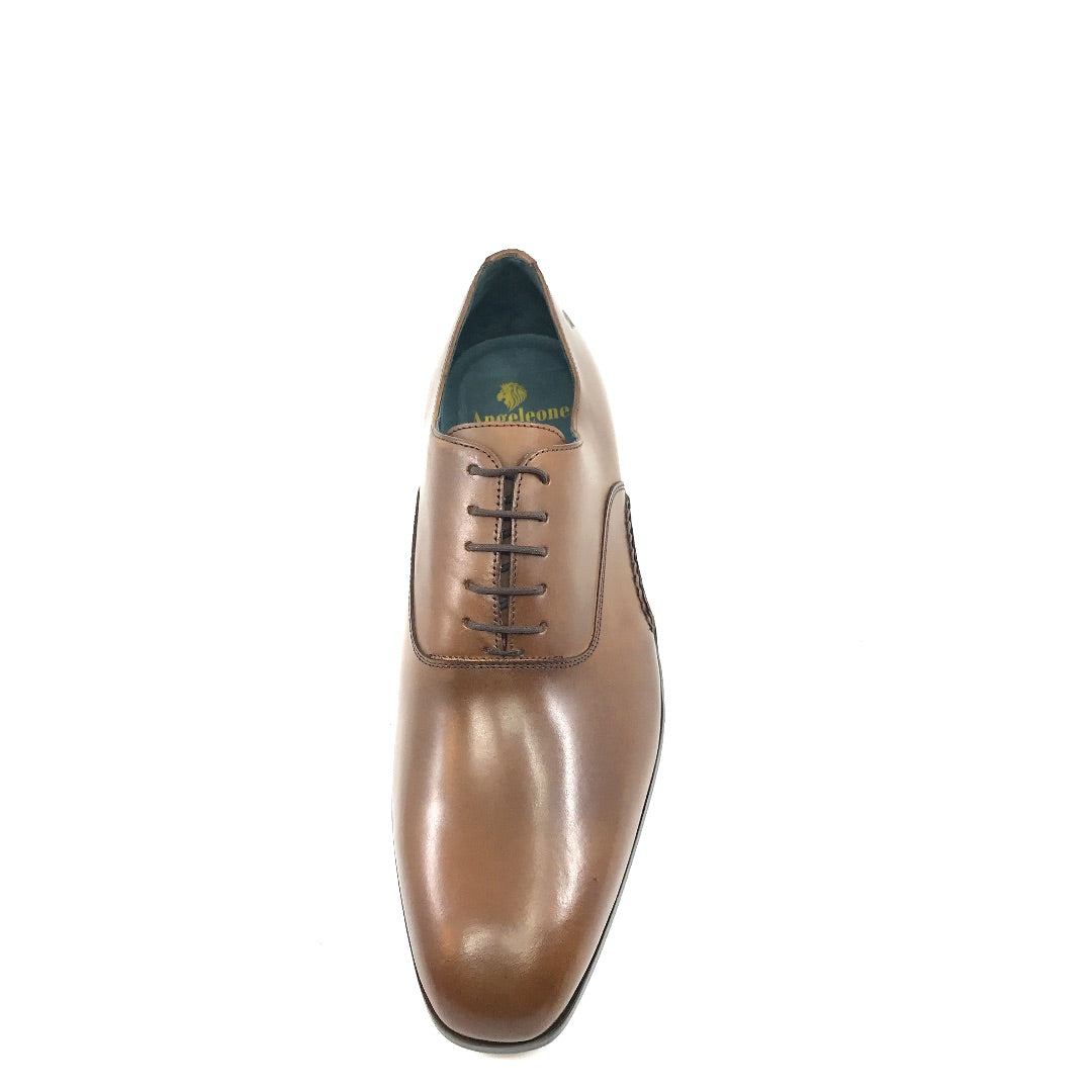 Amadeo by Angeleone - Brown Oxford Dress Shoes