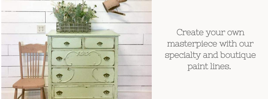Chippy green dresser painted in the color Sweetwater with Dark Oil Wax from the Sweet Pickins Milk Paint line sold by Rustic Tuesday