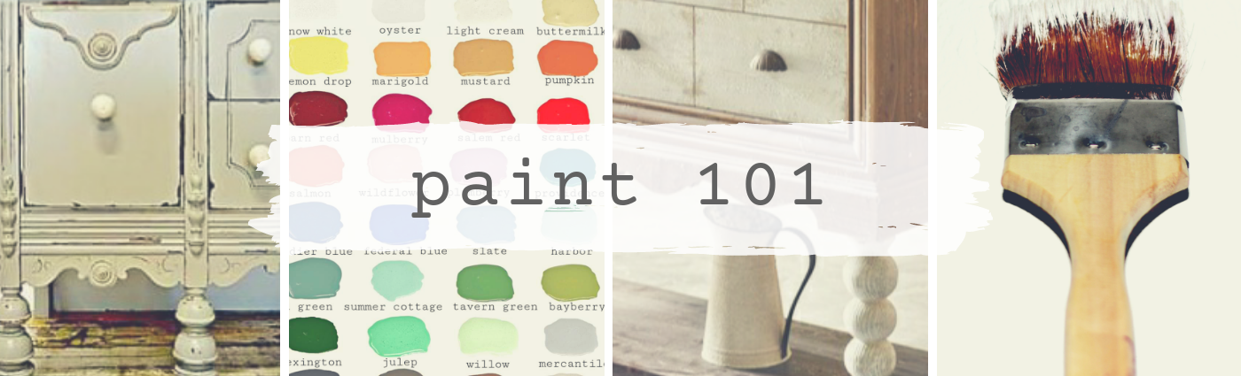 Paint 101 banner collage