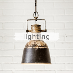 Picture of industrial light fixture