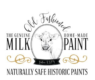 old fashioned Milk Paint logo and Rustic Tuesday offers old fashioned milk paint