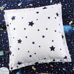 Universe Quilt Navy 4PC Set Twin