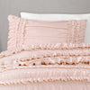 Belle Comforter Blush 4Pc Set Full/Queen
