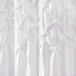 Bayview Shower Curtain Bleach White 72X72