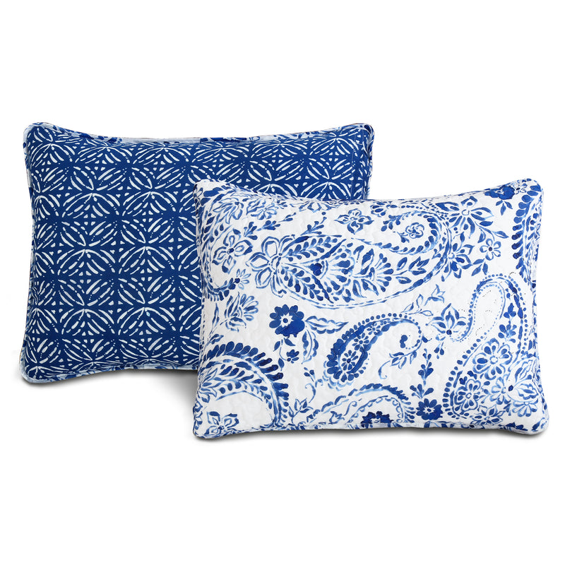 Erindale Quilt Navy/Blue 3Pc Set King