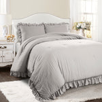 Reyna Comforter Lake Blue 3Pc Set King