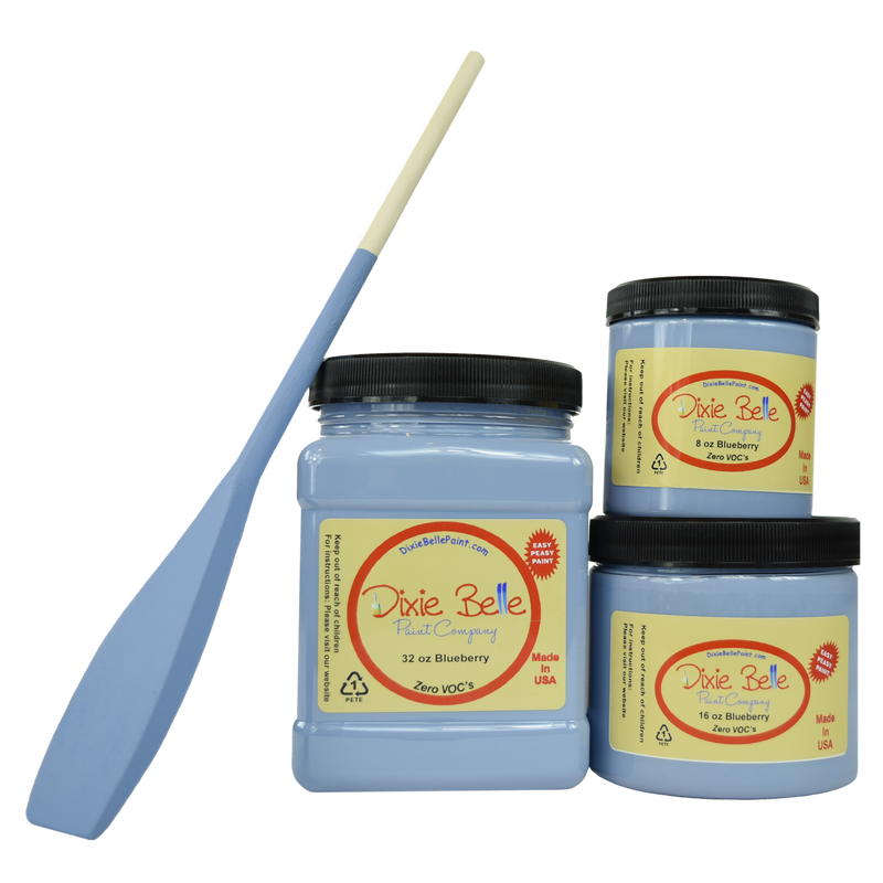 Blueberry Chalk Mineral Paint Dixie Belle