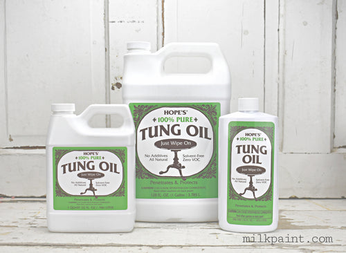 Hope's 100% Tung Oil Sweet Pickins