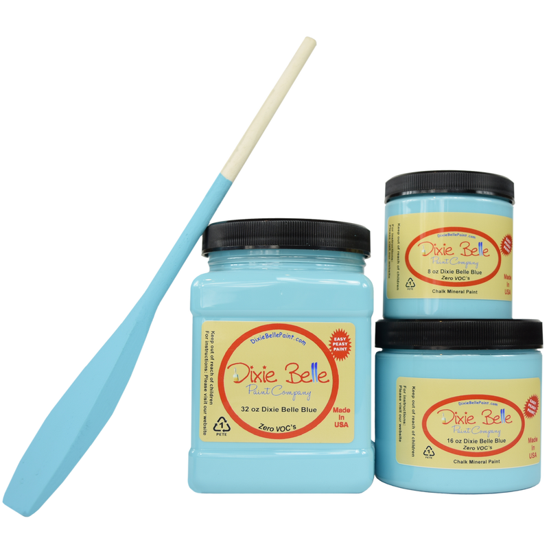 Dixie Belle Blue Chalk Mineral Paint Dixie Belle