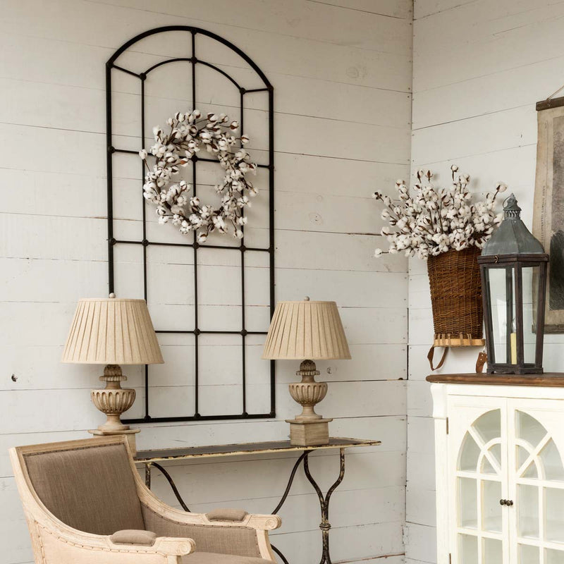 Large,Metal Framed Window Arch