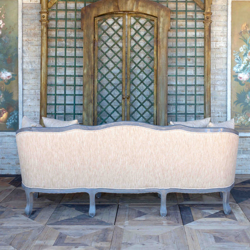 French Farmhouse Parlor Settee