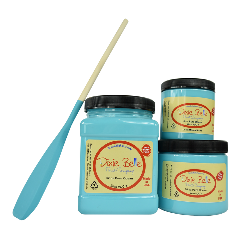 Pure Ocean Chalk Mineral Paint Dixie Belle