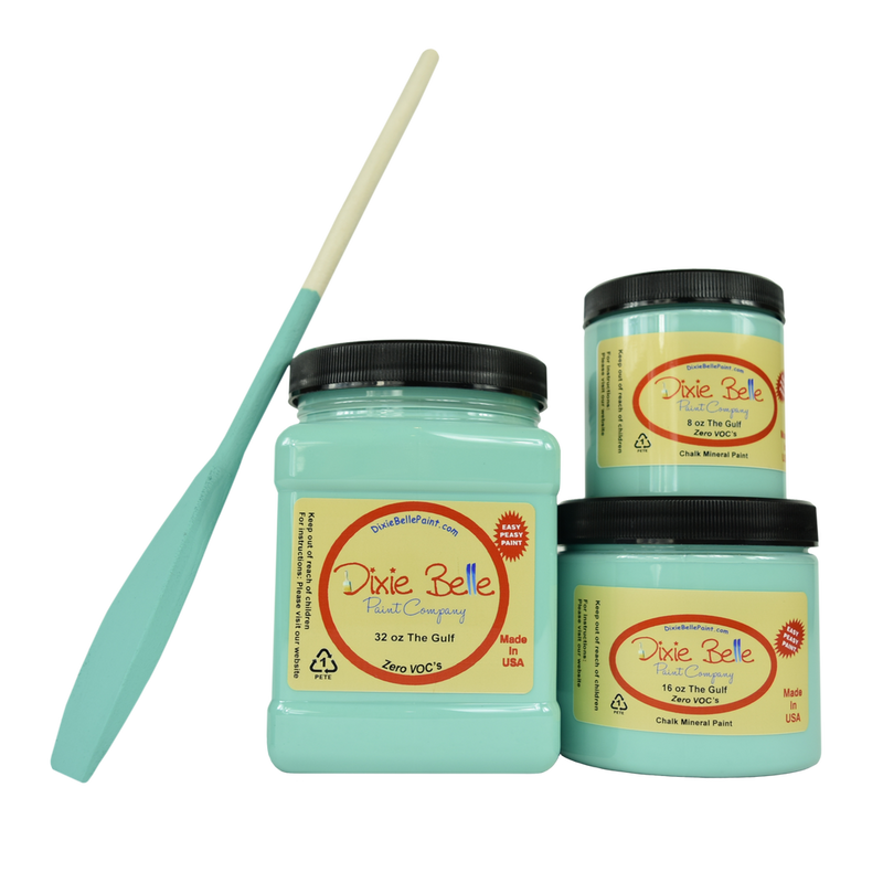 The Gulf Chalk Mineral Paint Dixie Belle