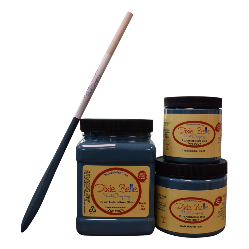 Antebellum Blue Chalk Mineral Paint