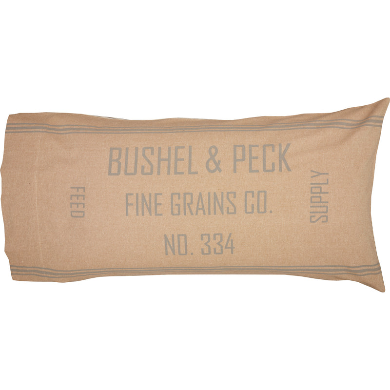 Grace Feed Sack Pillow Case Set of 2