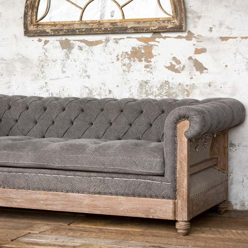 Deconstructed Sofa in Gray