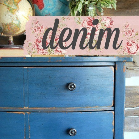 Denim Milk Paint