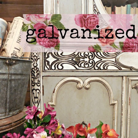 Galvanized Milk Paint