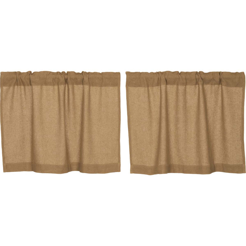 Burlap Natural Tier Set of 2
