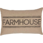 Sawyer Mill Charcoal Farmhouse Pillow 14x22