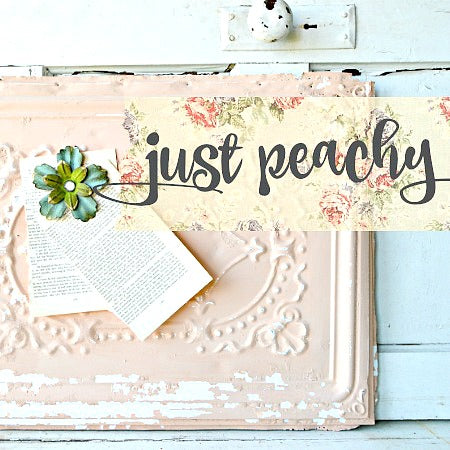 Just Peachy Milk Paint
