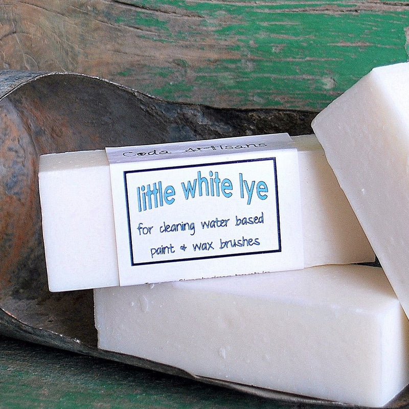 White Lye Brush Cleaner Sweet Pickins