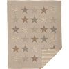 Sawyer Mill Star Charcoal Quilt