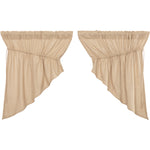 Burlap Vintage Prairie Swag Set of 2 36x36x18