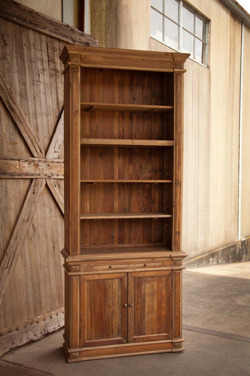 Rustic Open Face Cabinet For Display