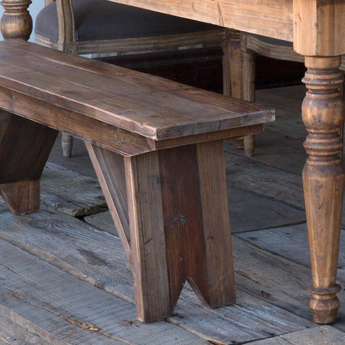 Rustic Pine Bench